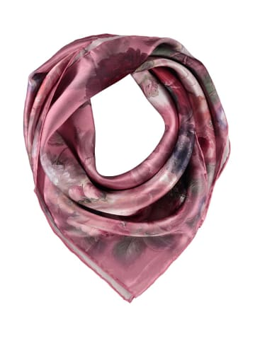 Made in Silk Seiden-Tuch in Rosa/ Bunt - (L)90 x (B)90 cm