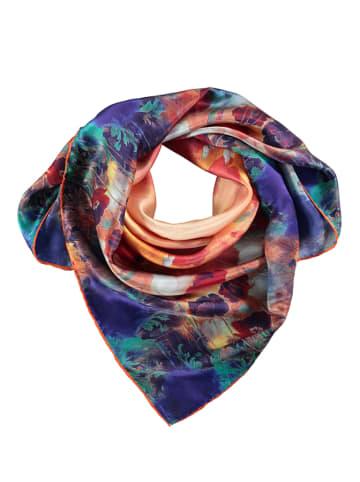 Made in Silk Seiden-Tuch in Bunt - (L)90 x (B)90 cm