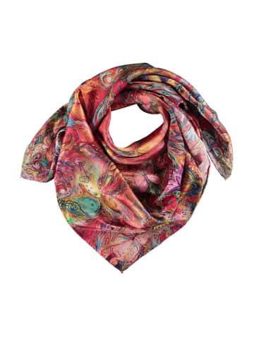 Made in Silk Jedwabna chusta ze wzorem - (D)90 x (S)90 cm