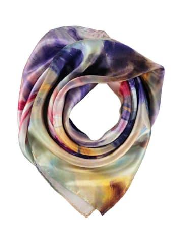 Made in Silk Jedwabna chusta ze wzorem - (D)86 x (S)86 cm