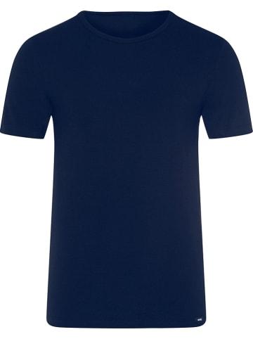 Skiny Koszulka w kolorze granatowym