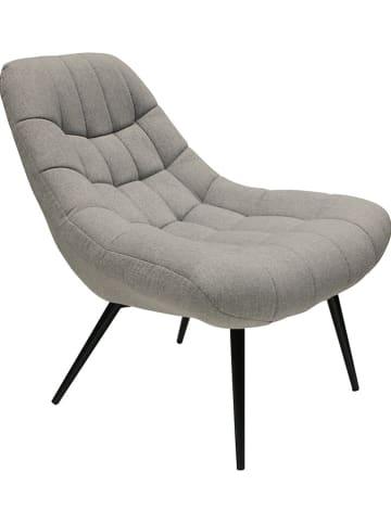 Rétro Chic Fotel w kolorze szarym - 76 x 85,5 x 87 cm