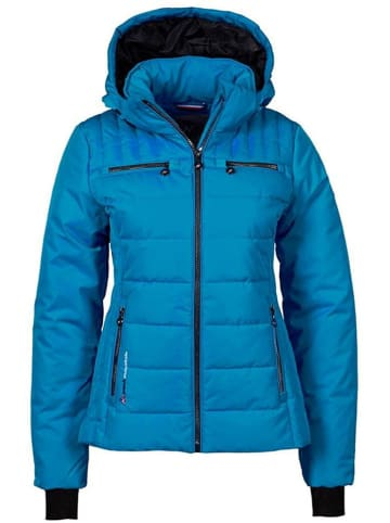 Peak Mountain Winterjas blauw