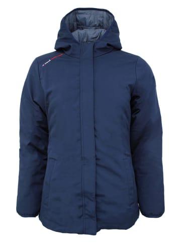 Peak Mountain Omkeerbare winterjas donkerblauw