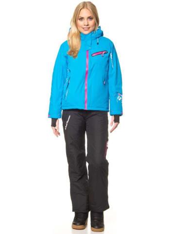 Peak Mountain 2tlg. Ski-/ Snowboardoutfit in Blau/ Schwarz