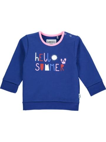 Lamino Sweatshirt blauw