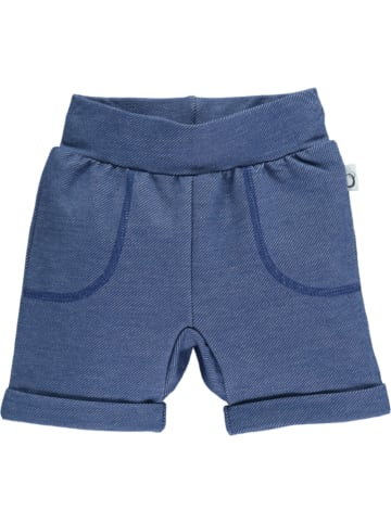 Lamino Shorts in Blau meliert