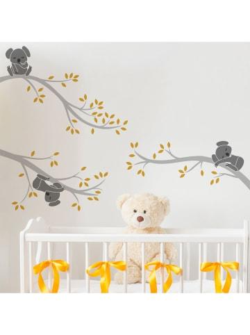 "Ambiance Tatuaż ścienny ""Cute koalas on the branches"""