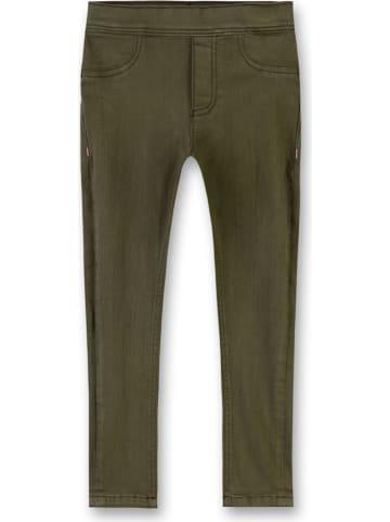 Sanetta Spodnie w kolorze oliwkowym