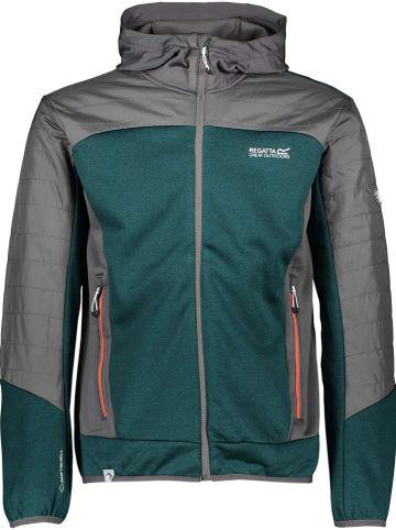 """Regatta Fleece vest """"Haska Hybrid"""" petrol/grijs"""