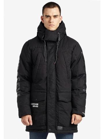Khujo Płaszcz zimowy w kolorze czarnym