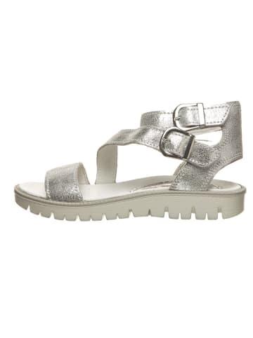 Primigi Leren sandalen zilverkleurig