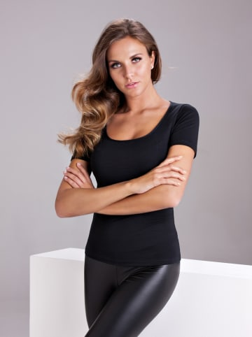 COTONELLA Shirt zwart