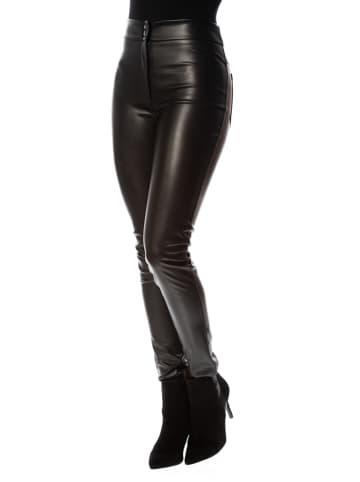 """Cosy Winter Spodnie """"Debora"""" w kolorze czarnym"""