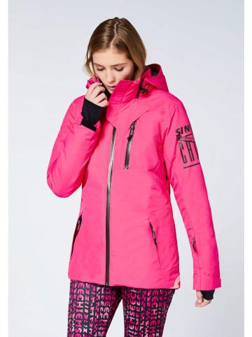"""Chiemsee Kurtka narciarska """"Ruka"""" w kolorze różowym"""