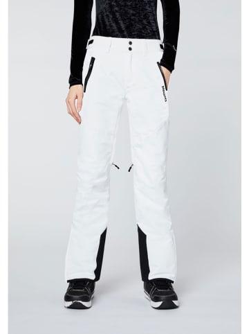 """Chiemsee Spodnie narciarskie """"Kizzy"""" w kolorze białym"""