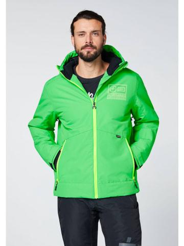 """Chiemsee Kurtka narciarska """"Thredbo"""" w kolorze zielonym"""