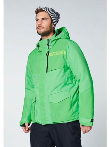 """Chiemsee Kurtka narciarska """"Boracay"""" w kolorze zielonym"""