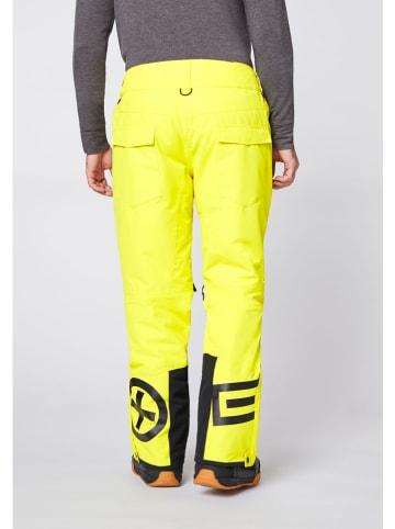 """Chiemsee Spodnie narciarskie """"Taos"""" w kolorze żółtym"""