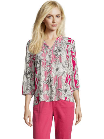BETTY & CO Blouse roze/wit