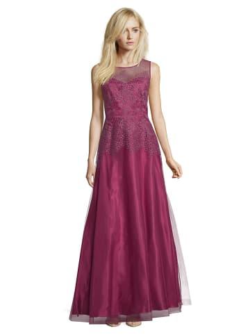 Vera Mont Sukienka w kolorze bordowym