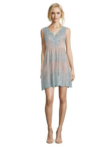 Vera Mont Sukienka w kolorze miętowo-jasnoróżowym