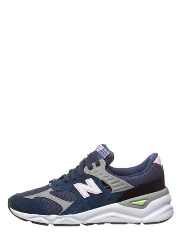 "New Balance Sneakers ""X90"" donkerblauw"
