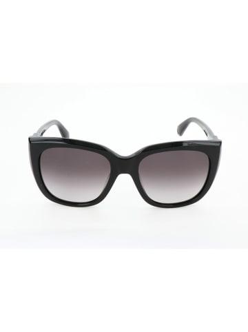 Max Mara Damskie okulary przeciwsłoneczne w kolorze czarnym