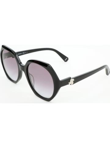 Max Mara Damskie okulary przeciwsłoneczne w kolorze czarno-szarym