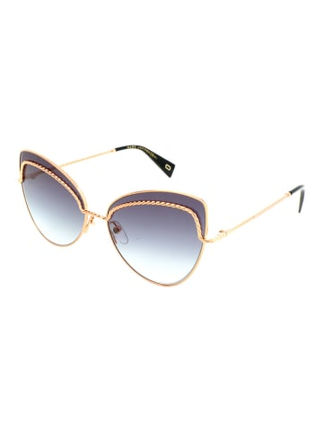 Marc Jacobs Damen-Sonnenbrille in Gold/ Grau