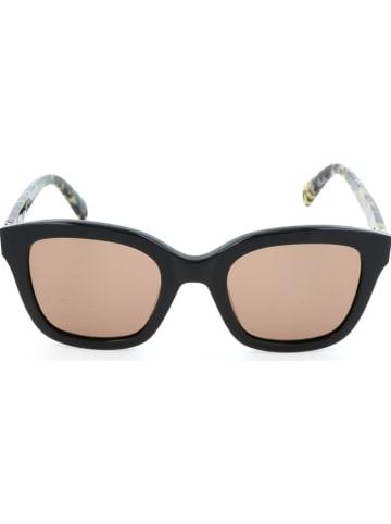 Max Mara Damen-Sonnenbrille in Schwarz-Gelb/ Braun