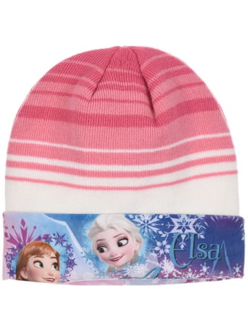 """Disney Frozen Czapka """"Frozen"""" w kolorze jasnoróżowym"""