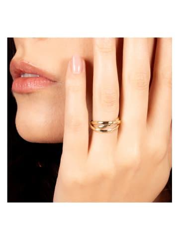 """OR ÉCLAT Złoty pierścionek """"Saturna"""""""