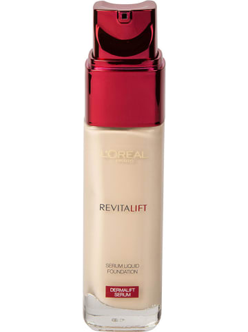 "L'Oréal Paris Foundation ""Revitalift Serum Liquid - 200 Nude Beige"", 30 ml"