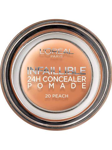 """L'Oréal Paris Concealer """"Infaillible 24h Concealer Pomade - 20 Peach"""", 15 g"""