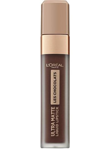 """L'Oréal Paris Lippenkleur """"Ultra Matte Les Chocolats - 856 70% Yum"""", 7,6 ml"""