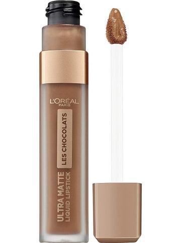 """L'Oréal Paris Lippenkleur """"Ultra Matte Les Chocolats - 860 Ginger Bombs"""", 7,6 ml"""