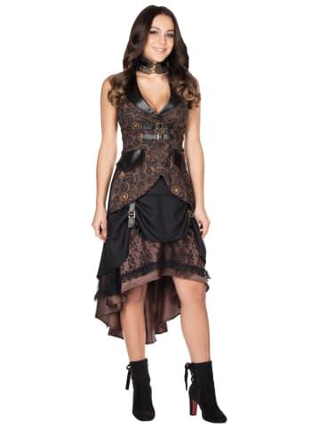 Rubie`s Spódnica kostiumowa w kolorze brązowo-czarnym