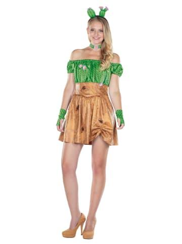 "Rubie`s Kostuumjurk ""Sexy Cactus"" lichtbruin/groen"
