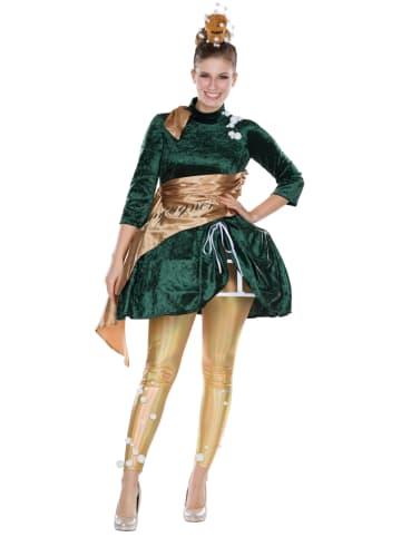 """Rubie`s 2-delig kostuum """"Champagner"""" groen/goudkleurig"""