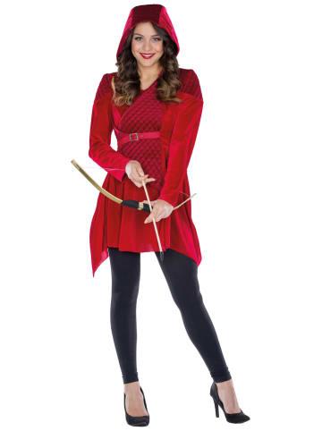"""Rubie`s Sukienka kostiumowa """"Robina"""" w kolorze czerwonym"""