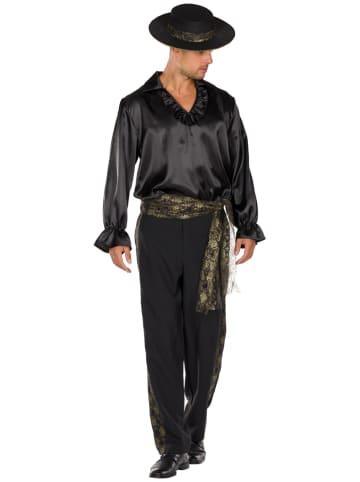 "Rubie`s 3-delig kostuum ""Spanjaard"" zwart"