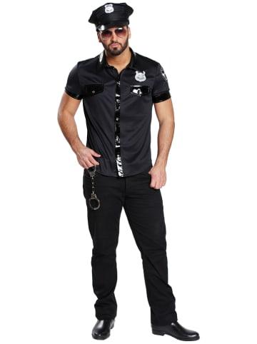 """Rubie`s Kostuumblouse """"Sexy Politieagent"""" zwart"""
