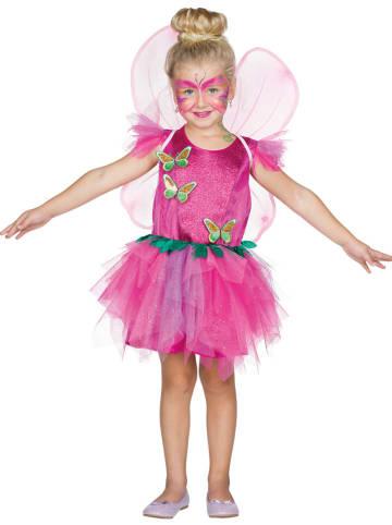 """Rubie`s Kostuumjurk """"Vlinder Fee"""" roze"""