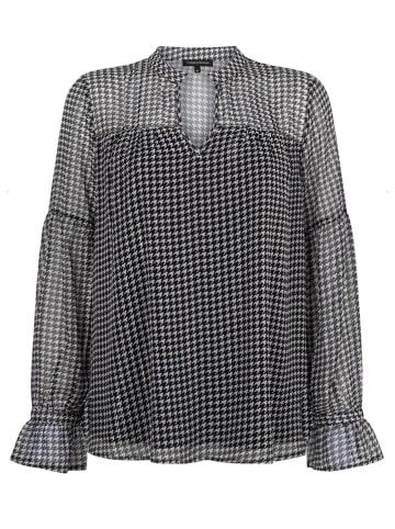 Tramontana Bluse in Schwarz/ Weiß