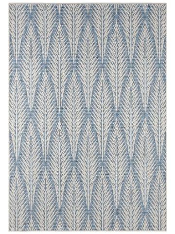 """Bougari Indoor-/outdoortapijt """"Pella"""" blauw/beige"""