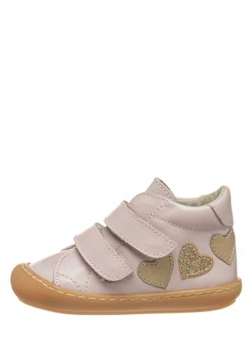 Kmins Leder-Sneakers in Rosa