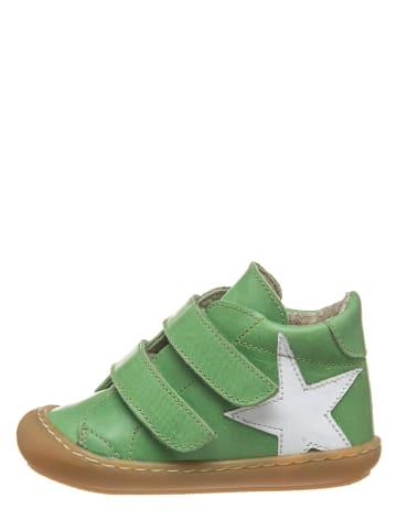 Kmins Leren sneakers groen