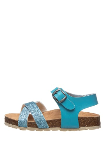 Kmins Sandalen turquoise