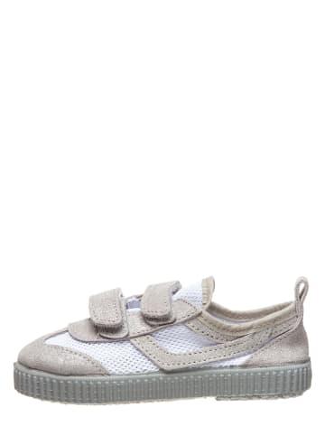 Kmins Sneakersy w kolorze szaro-białym